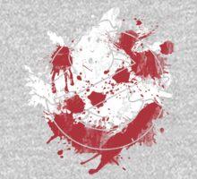 Ghostbusters Logo Paint Splatter One Piece - Long Sleeve