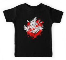 Ghostbusters Logo Paint Splatter Kids Tee