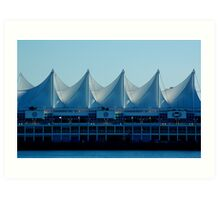 Blue sails Art Print
