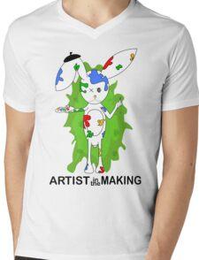 Artist Mens V-Neck T-Shirt