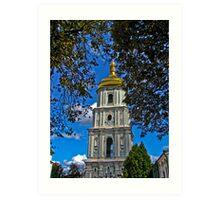 Софийский собор- колокольня Art Print