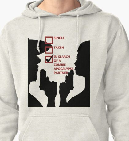 Zombie Survival Partners Collection (with text) Pullover Hoodie