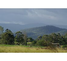 Aussie country Photographic Print