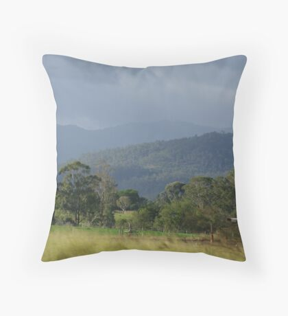 Aussie country Throw Pillow
