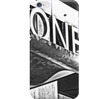 One.. is the loneliest number... iPhone Case/Skin
