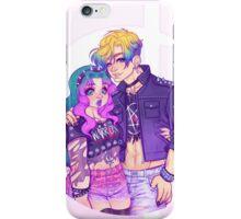 Pastel Goth Haruka & Michiru iPhone Case/Skin
