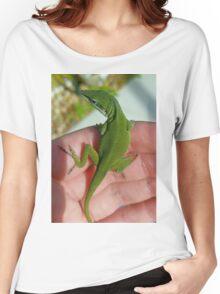 Green Anole Women's Relaxed Fit T-Shirt