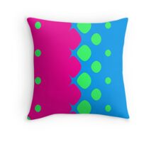 Circus Bubbles 3 Throw Pillow