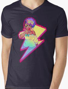 Thunder-Z Mens V-Neck T-Shirt