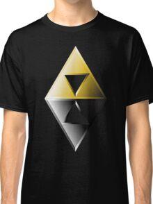 A Link Between Worlds Triforce Logo Classic T-Shirt
