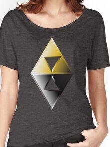 A Link Between Worlds Triforce Logo Women's Relaxed Fit T-Shirt