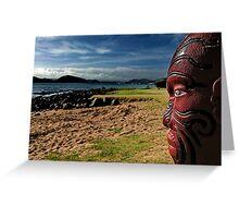 ngatokimatawhaorua. waitangi, aotearoa Greeting Card