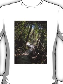 Pathway to Wonder, Dove Lake, Cradle Mountain, Tasmania, Australia.  T-Shirt