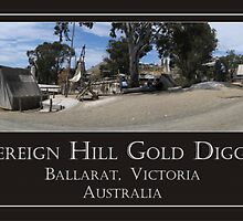 Sovereign Hill Gold Diggings by Martin Braden
