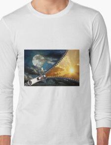 Unzip the Night Long Sleeve T-Shirt