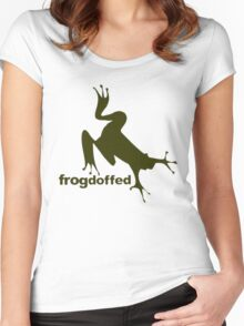 froG! Women's Fitted Scoop T-Shirt