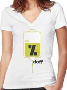 medicine Women's Fitted V-Neck T-Shirt