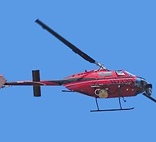 arial surveillance & audio warning helicopter by Lenny La Rue, IPA