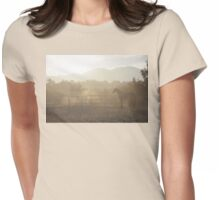 Carried Away By The Wind Womens Fitted T-Shirt