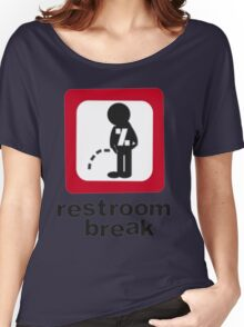 give ur self some break... Women's Relaxed Fit T-Shirt