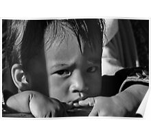 refugee child. north india Poster