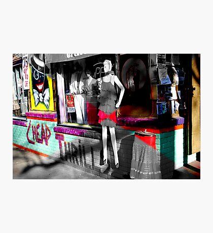 Cheap Thrills Photographic Print