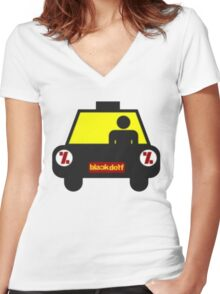 cab Women's Fitted V-Neck T-Shirt