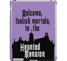 Haunted Mansion - Walt Disney World iPad Case/Skin