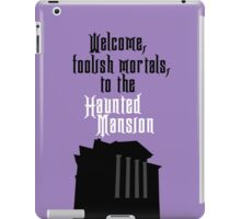 Haunted Mansion - Disneyland iPad Case/Skin