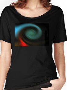 neonflash abstract art fabrics Women's Relaxed Fit T-Shirt