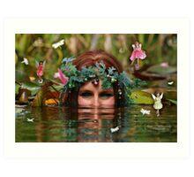 Queen of the fairys Art Print