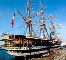 tall ship. venice, italy by tim buckley   bodhiimages