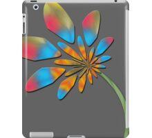 Multi colored flora iPad Case/Skin