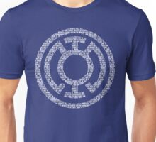 Blue Lantern Oath (White) Unisex T-Shirt