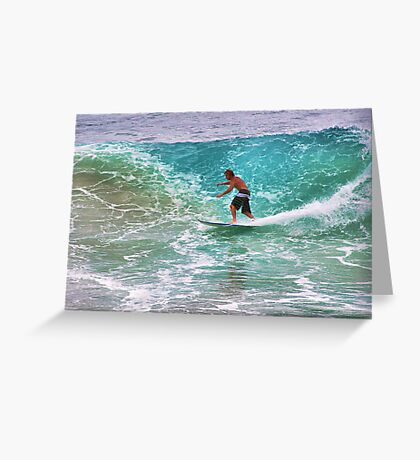 -Tell the teacher were surfin- Greeting Card