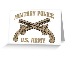 Cool MP Army T-shirt Limited Edition Greeting Card