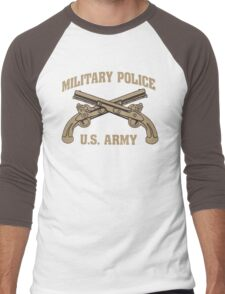 Cool MP Army T-shirt Limited Edition Men's Baseball ¾ T-Shirt
