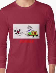 Rodney rides the mower Long Sleeve T-Shirt
