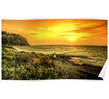 Fort Worden ~ Sunset ~ HDR Series Poster