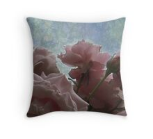 Pale Throw Pillow