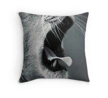 Yawn... Throw Pillow
