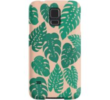 Cheese Plant - Trendy Hipster art for dorm decor, home decor, ferns, foliage, plants Samsung Galaxy Case/Skin