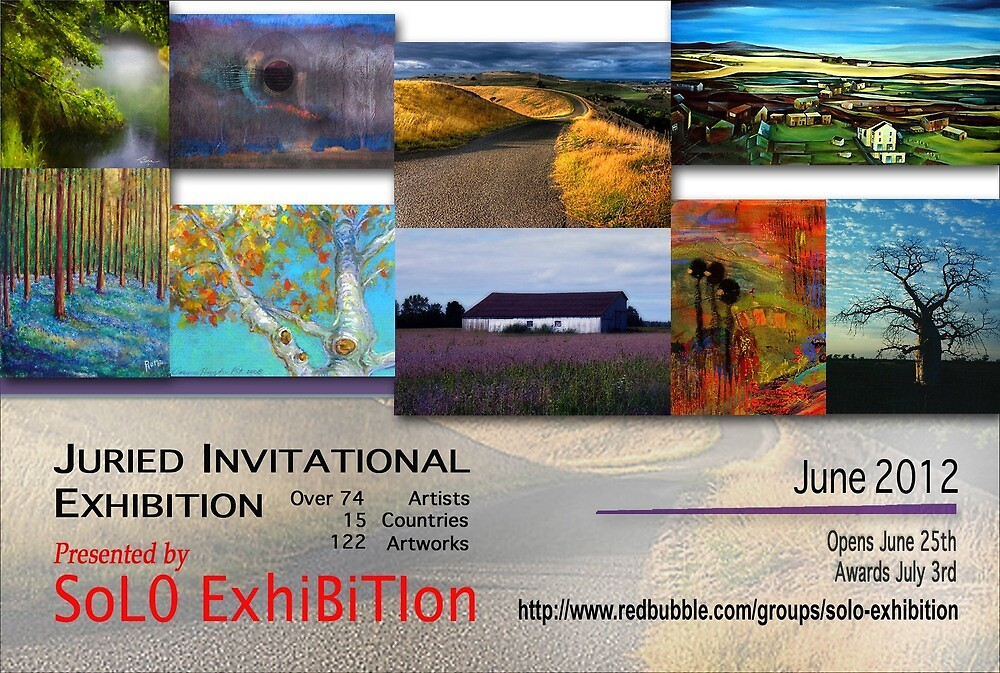 SoJie16, Landscape and Light, Banner by solo-exhibition