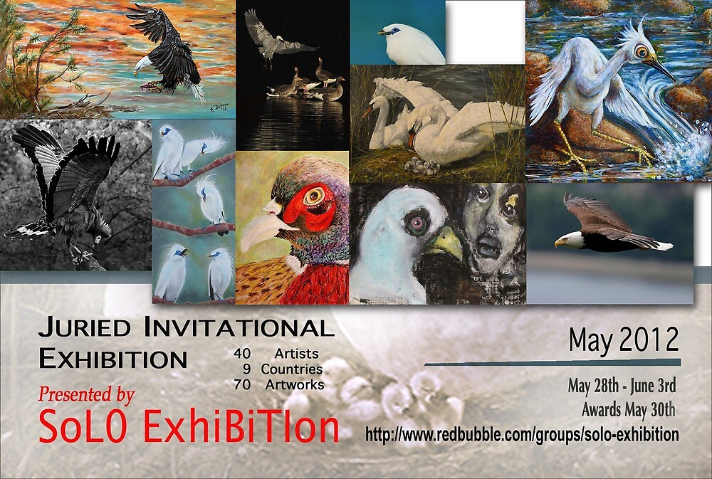 SoJie 15 For the Birds, Official banner by solo-exhibition