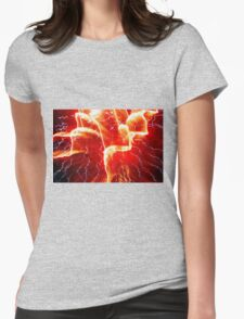 #42      Electric...Circus  Wild Womens Fitted T-Shirt