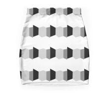 neonflash abstract art fabrics Mini Skirt