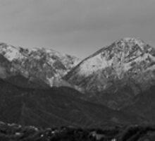Mt. Baldy (b/w) by leblancd