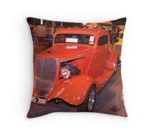 Red Hot Rod. (C) Throw Pillow