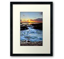 Little Austi Sunrise Framed Print
