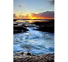 Little Austi Sunrise Photographic Print